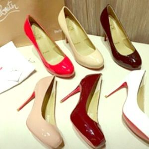 Brand New Classic Christian Louboutin Leather Pump